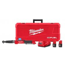 Milwaukee® M12 FUEL™ 2465-22 Cordless Digital Torque Wrench Kit With One-Key™ Technology, 3/8 in Drive, 10 to 100 ft-lb Torque, 12 V, M12™ REDLITHIUM™ CP2.0 Lithium-Ion Battery, 23.3 in OAL