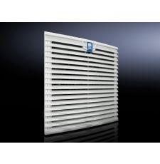 Rittal 3240200 Standard Outlet Filter, ABS, Light Gray
