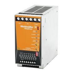 Weidmuller 1370050010 UPS Control Unit, 20 to 30 VDC Input, 24 VDC Output, 24/28 A, DIN Rail Mount