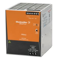 Weidmuller 1469510000 Pro Eco DC Power Supply, 85 to 264 VAC Input, 24 VDC Output, 480 W Power Rating, 20 A, DIN Rail Mount
