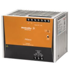 Weidmuller 1469560000 DC Power Supply, 320 to 575 VAC Input, 24 VDC Output, 960 W Power Rating, 40 A, DIN Rail Mount