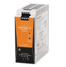 Weidmuller 1478120000 PROmax 1-Phase Switch Mode Power Supply Unit, 100 to 240 VAC Input, 24 VDC Output, 180 W Power Rating, 5/7 A, DIN Rail Mount