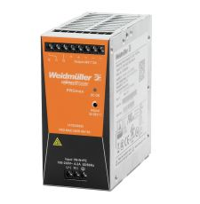 Weidmuller 1478130000 PROmax 1-Phase Switch Mode Power Supply Unit, 100 to 240 VAC Input, 24 VDC Output, 240 W Power Rating, 10 A, DIN Rail Mount