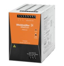 Weidmuller 1478140000 ProMAX® Adjustable Switch Power Supply, 85 to 277 VAC, 80 to 130 VDC Input, 24 VDC Output, 480 W Power Rating, 20 A, DIN Rail Mount