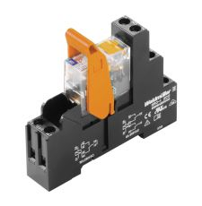 Weidmuller 8881610000 RIDERSERIES Relay Module With Test Button, 8 A, 2CO Contact, 24 VDC V Coil
