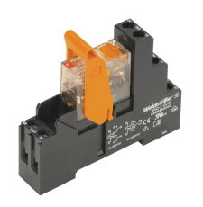 Weidmuller 8897060000 RIDERSERIES RCI General Purpose Relay With Test Button, 16 A, 1CO Contact, 115 VAC V Coil