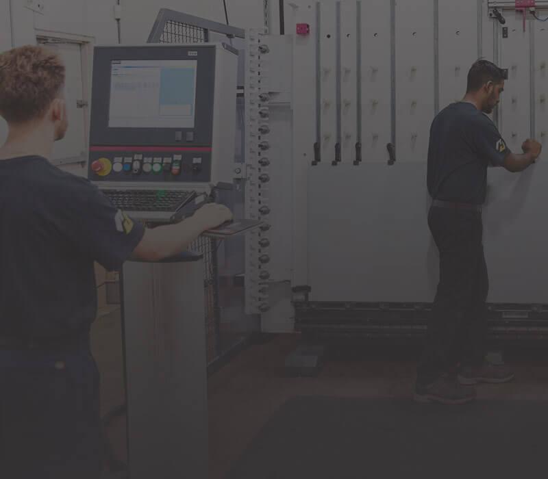 Customer Control & Fabrication